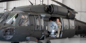 Harrier BlackHawk Helicopter