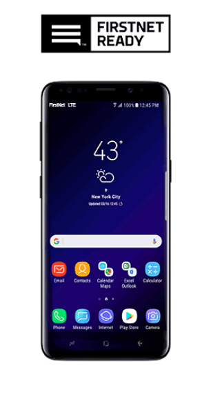 FirstNet Ready Samsung Galaxy S9