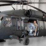 Ric Wilhelm on Blackhawk with Harrier Rapid Communications Terminal
