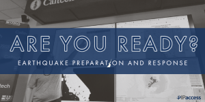 Earthquake prep and response