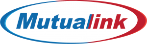 Mutualink Logo with Solid Colors