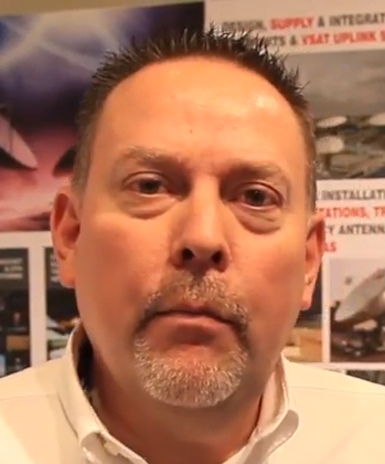 Chris Callow of Sat-Lite Technologies